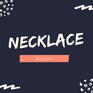 Necklaces ahead